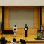 早稲田大学「きもの学」授業での講演01