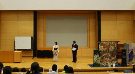 早稲田大学「きもの学」授業での講演_01