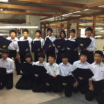 Observation Study Tour: the students came from Hatta Junior High School, Ayabe City01