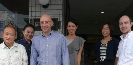 マリオ・アンドレア・ヴァッターニ在大阪イタリア総領事ならびに総領事夫人が見学のため弊社を訪れました。_01